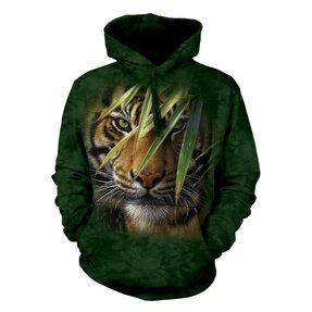 Mikina s kapucňou Ukrytý tiger