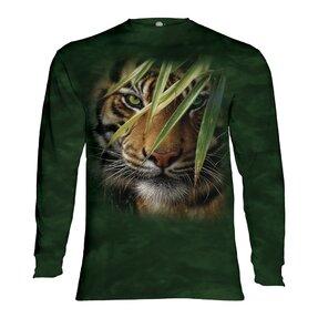 Tričko s dlhým rukávom Ukrytý tiger