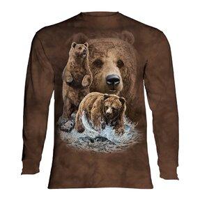 Hosszúujjú póló Találd meg a 10 medvét