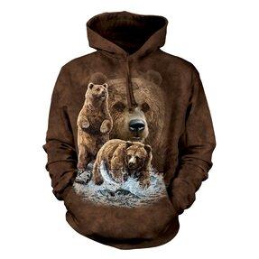 Kapucnis pulóver Találd meg a 10 medvét