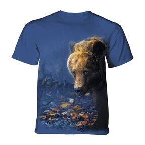 Tričko Medveď v lístí