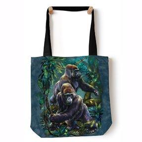 Tote taška na rameno Gorily v pralese