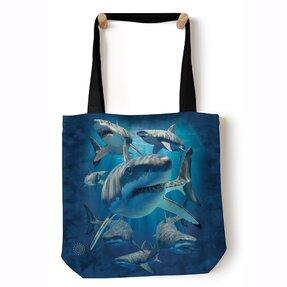 Tote taška na rameno Útočné žraloky