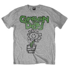 Green Day Flower Pot Pólo