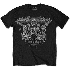Guns N' Roses Skeleton Guns Pólo