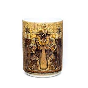 Originální hrníček s motivem Egypští bojovníci