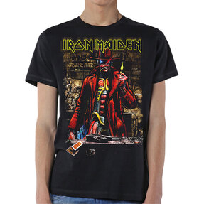 Tričko Iron Maiden Stranger Sepia
