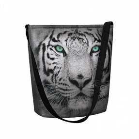 Schultertasche Funky Tiger