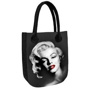 Schulter Handtasche Antracyt Monroe