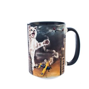Originelle Tasse mit dem Motiv King Kitten