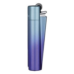 Kovový zapalovač CLIPPER® Blue Gradient matný