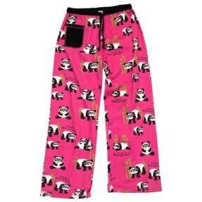 Női pizsama nadrág Panda Fekete-fehéren álmodok