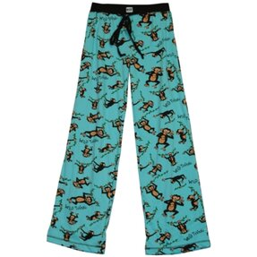 Női pizsama nadrág Vad majom
