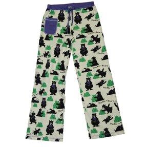 Női pizsama nadrág Éhes mackó