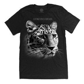 Tri-blend tričko Protect Leopard