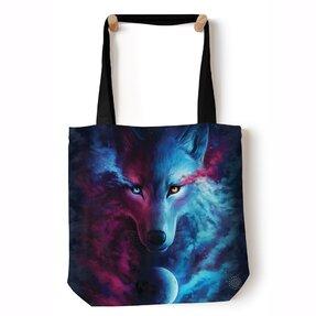 Tote taška na rameno Nebeský vlk