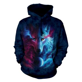 Mikina s kapucí Nebeský vlk