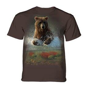 Tričko Medveď a ryby
