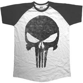 T-Shirt Marvel Comics Punisher Jagged Skull