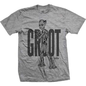 Tricou Marvel Comics Avengers Infinity War Teen Groot Line Art