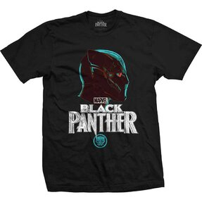 T-Shirt Marvel Comics Black Panther Big Head