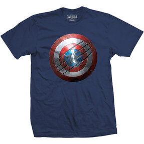 T-Shirt Marvel Comics Captain America Civil War Clawed Shield