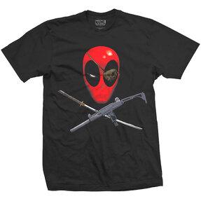 Marvel Comics Deadpool Crossbones Pólo