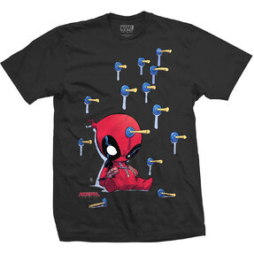 T-Shirt Marvel Comics Deadpool Suckers