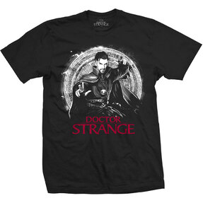 T-Shirt Marvel Comics Doctor Strange Mono Pop