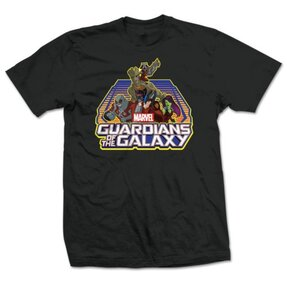 T-Shirt Marvel Comics Guardians of the Galaxy Group Logo