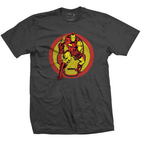T-Shirt Marvel Comics Iron Man Dual