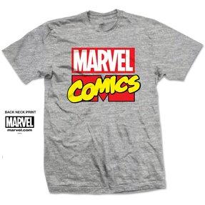 Marvel Comics Marvel Logo Pólo