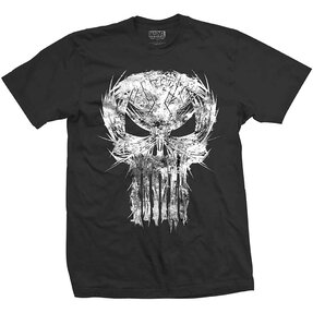 T-Shirt Marvel Comics Punisher Skull Spiked