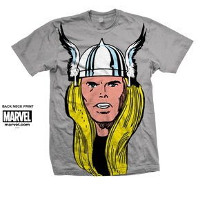 Tričko Marvel Comics Thor Big Head