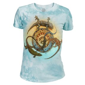 Dámské tri-blend tričko Kruh plazů