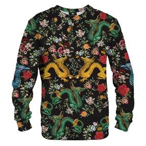 Sweatshirt ohne Kapuze Asiatischer Drache