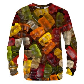 Sweatshirt ohne Kapuze Gummibärchen