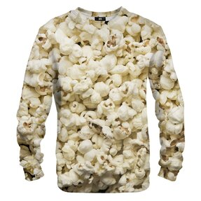 Mikina bez kapucne Popcorn