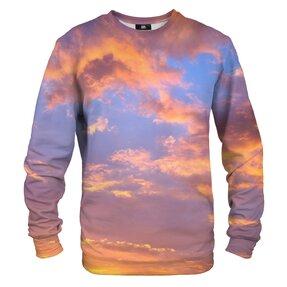 Sweatshirt ohne Kapuze Abendhimmel