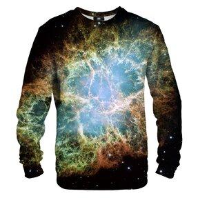 Sweatshirt ohne Kapuze Grüne Galaxie