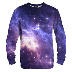 Sweatshirt ohne Kapuze Schein im Universum
