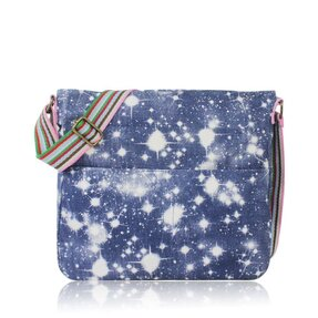 Modrá crossbody taška Hviezdna obloha