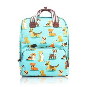 Modrý batoh na notebook Pejsci d353a8104d