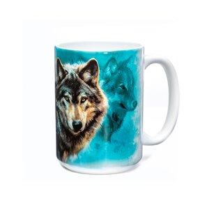 Originálny hrnček s motívom Nočné vlky