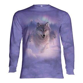 Langarm T-Shirt Wolfsflucht