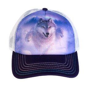 Kappe mit Netz Wolfsflucht