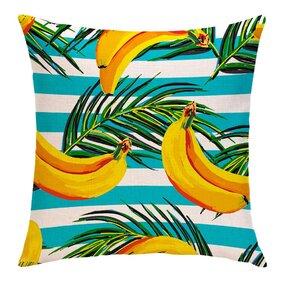 Oboustranný povlak na polštář Dobré banány
