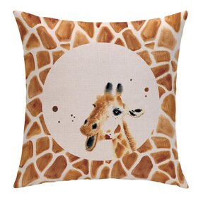 Oboustranný povlak na polštář Žirafí skvrny