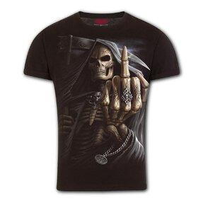 T-Shirt mit schmaler Passform Fingerknochen