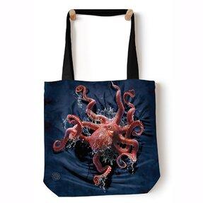 Tote taška na rameno Chobotnica